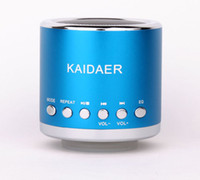 Wholesale Music Angel Kaidaer Miscro SD TF card MP3 USB Disk Digital Stereo Mini Portable Speakers