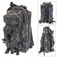 Wholesale Nylon Material Double Shoulder Backpack with Zipper for Outdoor Activity Jungle Camouflage