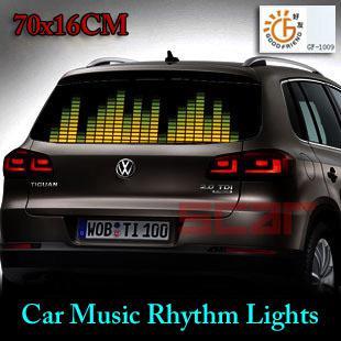 2018 Auto Led Lights Decorative Lamps Car Music Rhythm ...