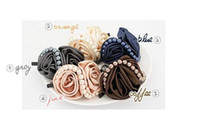 Price Discount   high qualigy Wholesale Korea rose border clip hairpin hair accessories