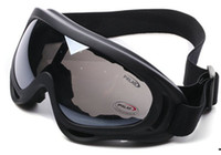 Wholesale X400 ski glasses amp cycling goggles PC UVA UVB protection ANSI Z87 strandard colors optional