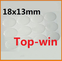resin material - dropping sale x13mm clear oval shaped epoxy dome sticker resin material d effect high quality