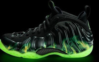 Wholesale Mens Cheap Best Basketball Shoes Air Foamposite Paranorman Athletic Shoes Factory Price Size