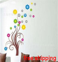 Wholesale Glass sided a simple love wall stickers DIY Decoration Fashion wall sticker