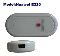 Wholesale HUAWEI E220 G HSDPA USB MODEM wireless network card support google android tablet PC