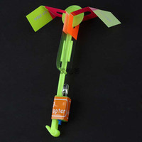 Wholesale Christmas Gift LED amazing arrow Flying helicopter umbrella kids toys Space UFO LED Lighte Up Toys