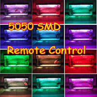 Wholesale New Ultra bright SMD LED Light Strip Lighting RGB With Remote Colors For Aquarium Fish Tank
