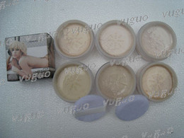 Wholesale New makeup Loose powder in box free gift