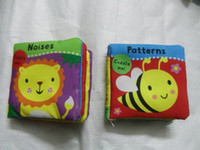 Wholesale New Children s Cloth Book baby Preschool Child Toy Ladybird Bee educational cloth book Toys gift