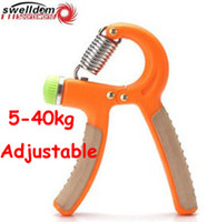 Wholesale SWELLDOM kg heavy Adjustable Hand Grips Grip Device home gym grippers Strength muscle training