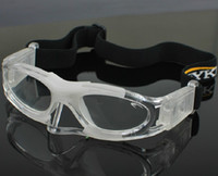 Wholesale 4 color EYKI with nose protector pro basketball football sports Goggles glasses eyewear Adjustable