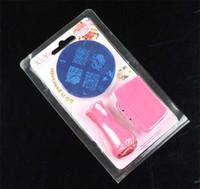 Cheap Nail Art Stamping Kit nail plate Best nail beauty 3pcs nail art template