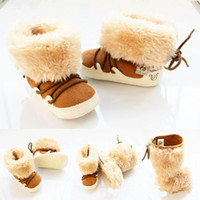 Wholesale Baby snow winter Boots baby boots baby shoes Baby Footwear next Infant Shoes pairs dandys