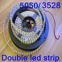 Newest SMD3528 5050 12V double led strips Christmas strip 5M...