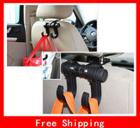 Wholesale Novelty Convenient Car Hanger New Practical Car Auto Shopping Purse Hook Hanger Holder Seat Bag