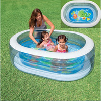 Cheap inflatable swimming pool swimming pool Best 163*107*46cm intex 57842 water pool
