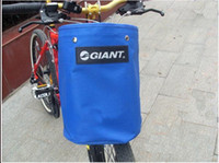 Wholesale Bicycle folding bike basket canvas basket folding car cloth basket car basket