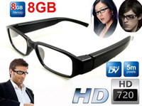 Wholesale New GB HD P Hidden Camera Spy Glasses Eyewear DVR Camcorder Video Recorder m pixels mini DVR