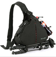 Wholesale Casual DSLR Camera Bag Messenger Shoulder Bag For Nikon Sony Canon Olympus Anti water