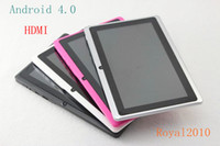 Wholesale Actions a13 android tablet pc with HDMI inch a10 Ghz MB GB laptop