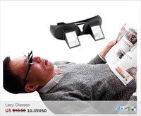 Wholesale In stock Creative High Definition Horizontal Glasses Lazy Glasses Novelty Bed Lie Down Periscope Gla