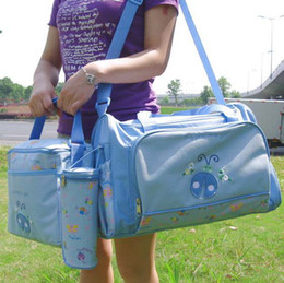 Wholesale Children Baby Diapers Kids Baby Boys Girls Cute Diaper Bag Best Girls Sale Sets Outfits