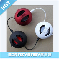 Wholesale X Mini Mini Capsule Speaker Subwoofers USB Charger mm Plug for iPhone S Mobile Phone S3 S2