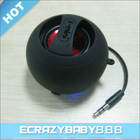 Wholesale X Mini Capsule Speaker Mini Loudspeaker Subwoofer Speakers USB Charger for Laptop Computer Tablet PC