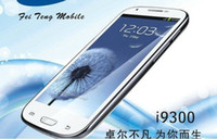 Wholesale MTK6575 i9300 android with inch Capacitive screen G GPS GB GB GPS cell Phone