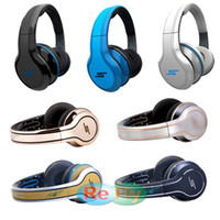 Wholesale New Arrival SMS Audio Street by Cent On Ear Wired Headphones Autograph and Plating