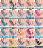 Wholesale 20Sheets set Colors Optional Nail stickers magic Nail Patch Minx Style sticker