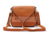 Fashion Handbags Shoulder Bag PU Leather Brown Beigh Blue 1P...