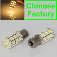 5050 SMD SMT LED Bulbs  Warm White 27 5050 LED 1156 BA15S P21W 67 89 T25 Car Reverse Turn Signal Rear Tail Brake Light Bulb