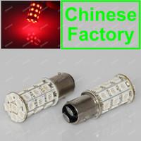 Wholesale bright Red LED BAY15D T Car Reverse Turn Signal Tail Brake Light Bulb Lamp