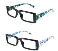 Wholesale new fashion tide men s black square frame the narrow framed glasses frame
