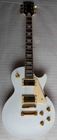 Wholesale best custom sop Alpine white electric guitar ebony fingerboard mahogany body