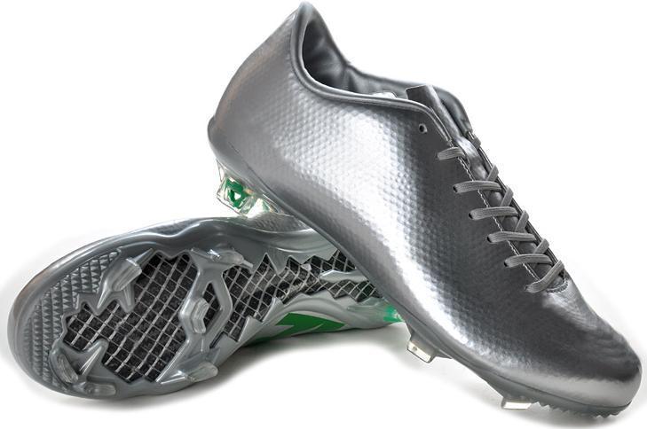 2017 New Silver Green Ronaldo Retro Soccer Shoes For Mens Football ...