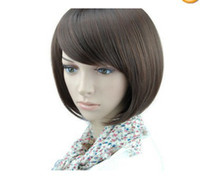 Wholesale short human made hair healthy women s wig wigs