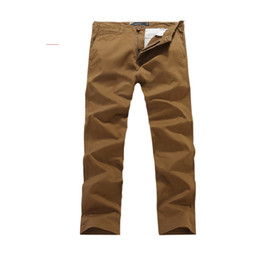 Wholesale Mens Chino Cheap Pants Quality Guarateed Cotton Straight Leg Coin pocket Size Colors