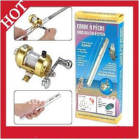 Wholesale Hot sales Mini Fishing Rod In Pen Tackle Pen Rod