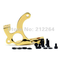 Other Machine tattoo gun frames - Tattoo Machine gun Complete Frame golden yellow Screws kit supply Iron Walker Style
