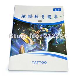 Wholesale new tattoo flash book cool tattoo Atlas Volume half shoulder blade diagram flowers designs tattoo flash books
