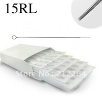 other   50Pcs Tattoo Needles 15 Round Liner 15RL Stainless Steel Sterilize supply Professional tattoo equipment free shipping