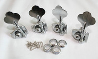 Wholesale New Set Of pieces Guitar Tuning Pegs Machine Head Fit for Basses Guitar Left