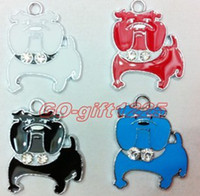 Wholesale 100pcs bulldog Metal Charms pendants DIY Jewellery Making crafts new