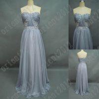 selena gomez dress - Selena Gomez Sheath Column Sweetheart Beading Chiffon Gray Celebrity Prom Dresses Evening Dress
