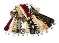 Wholesale Winter new special flowers fringe mink scarf fur collar mink scarf