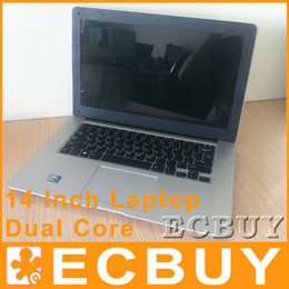 Wholesale 14 Laptop Win Seven Notebook G G G DDR3 RAM G G G G HDD Win inch Laptops Intel Computer PC Netbook Notebooks