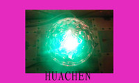Wholesale 6 Channel DMX512 Control Digital LED RGB Crystal Magic Ball Effect Light DMX Disco DJ Stage Lig