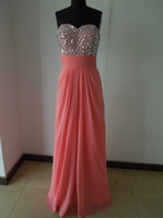 Wholesale Prom Dresses New Arriva sexy sweetheart beadings Evening Dresses LF17809